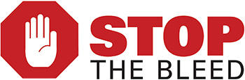 Stop the bleed logo graphic